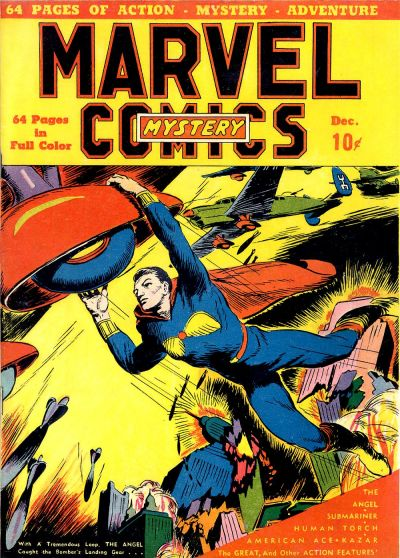 Cover for Marvel Mystery Comics (Marvel, 1939 series) #2