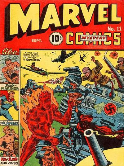 Cover for Marvel Mystery Comics (Marvel, 1939 series) #11