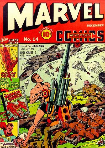 Cover for Marvel Mystery Comics (Marvel, 1939 series) #14