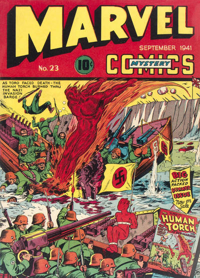 Cover for Marvel Mystery Comics (Marvel, 1939 series) #23