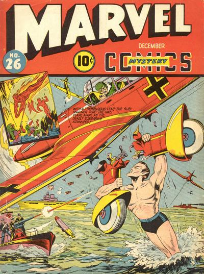 Cover for Marvel Mystery Comics (Marvel, 1939 series) #26