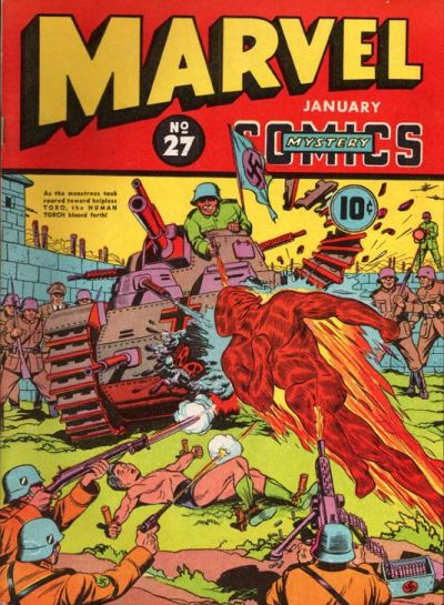 Cover for Marvel Mystery Comics (Marvel, 1939 series) #27