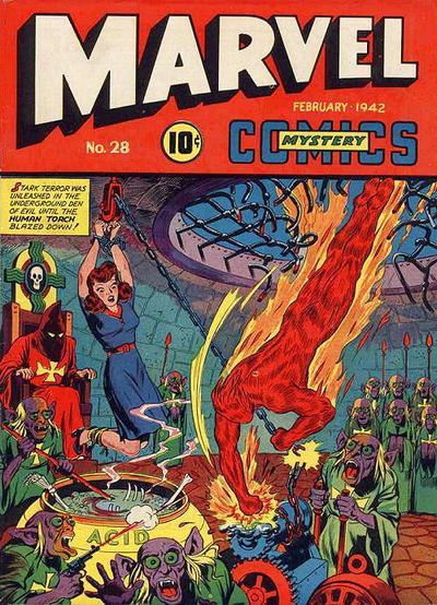 Cover for Marvel Mystery Comics (Marvel, 1939 series) #28