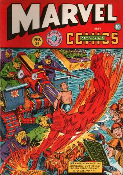 Cover for Marvel Mystery Comics (Marvel, 1939 series) #31