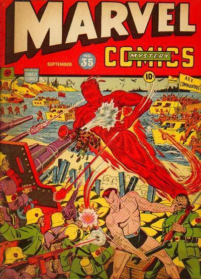 Cover for Marvel Mystery Comics (Marvel, 1939 series) #35