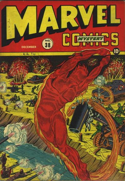 Cover for Marvel Mystery Comics (Marvel, 1939 series) #38