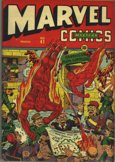 Cover for Marvel Mystery Comics (Marvel, 1939 series) #41