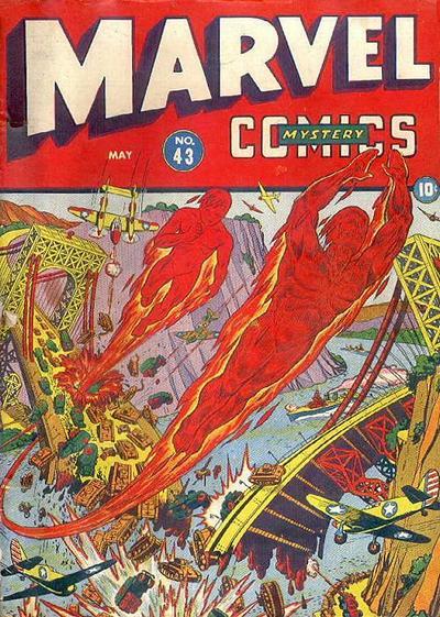 Cover for Marvel Mystery Comics (Marvel, 1939 series) #43