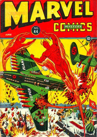 Cover for Marvel Mystery Comics (Marvel, 1939 series) #44