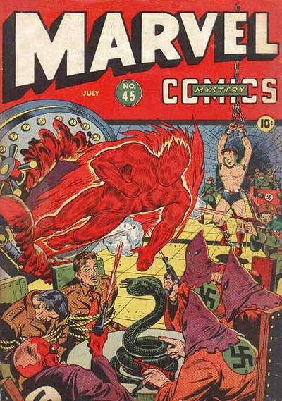 Cover for Marvel Mystery Comics (Marvel, 1939 series) #45
