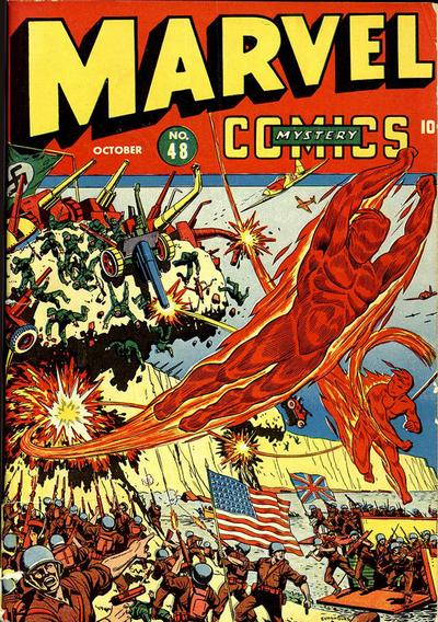 Cover for Marvel Mystery Comics (Marvel, 1939 series) #48