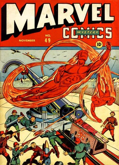 Cover for Marvel Mystery Comics (Marvel, 1939 series) #49