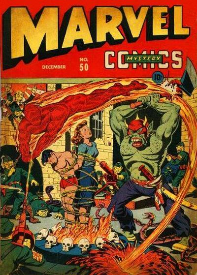 Cover for Marvel Mystery Comics (Marvel, 1939 series) #50