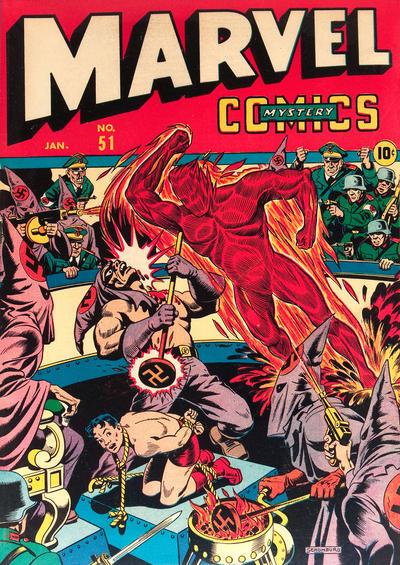 Cover for Marvel Mystery Comics (Marvel, 1939 series) #51