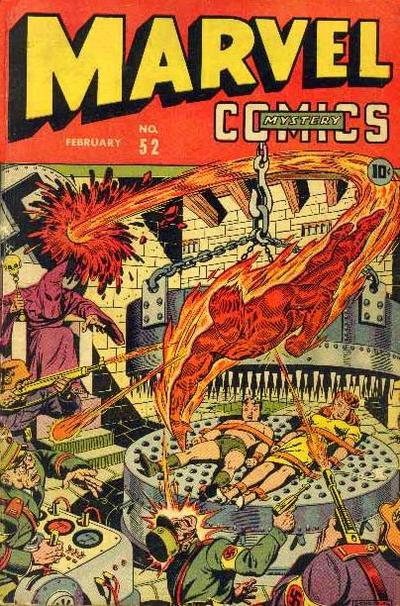 Cover for Marvel Mystery Comics (Marvel, 1939 series) #52