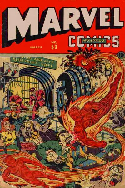 Cover for Marvel Mystery Comics (Marvel, 1939 series) #53