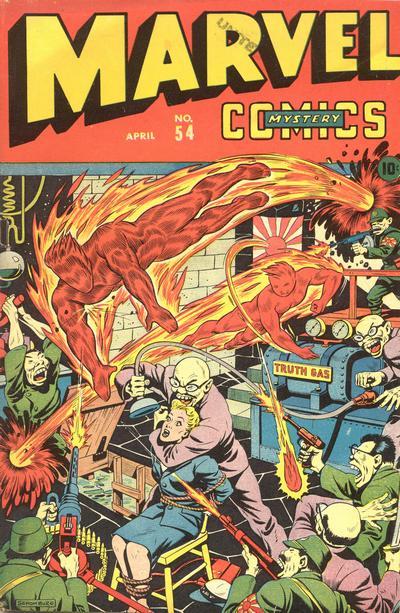 Cover for Marvel Mystery Comics (Marvel, 1939 series) #54