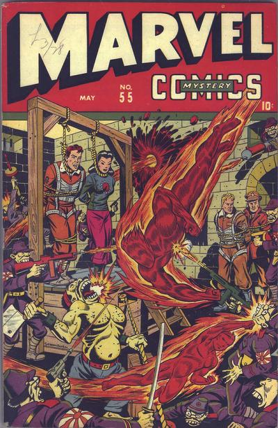 Cover for Marvel Mystery Comics (Marvel, 1939 series) #55