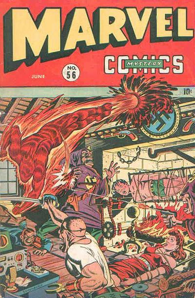 Cover for Marvel Mystery Comics (Marvel, 1939 series) #56