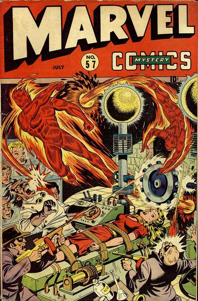 Cover for Marvel Mystery Comics (Marvel, 1939 series) #57