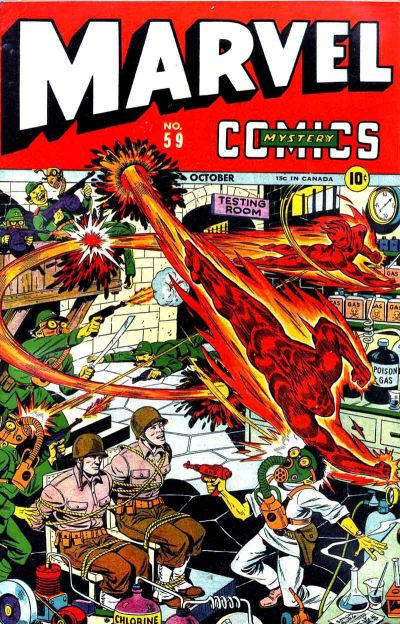 Cover for Marvel Mystery Comics (Marvel, 1939 series) #59