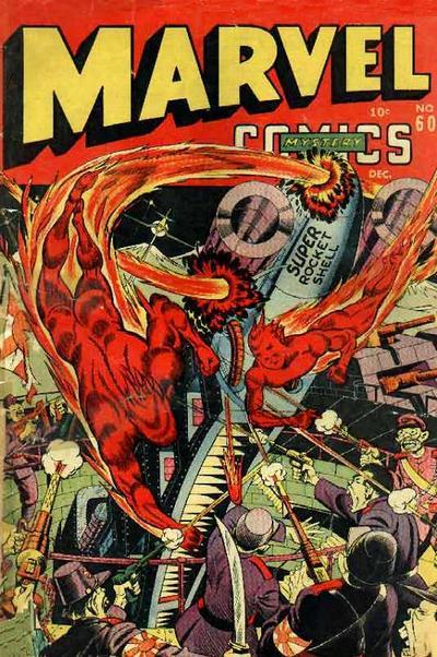 Cover for Marvel Mystery Comics (Marvel, 1939 series) #60