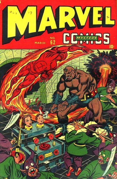 Cover for Marvel Mystery Comics (Marvel, 1939 series) #62