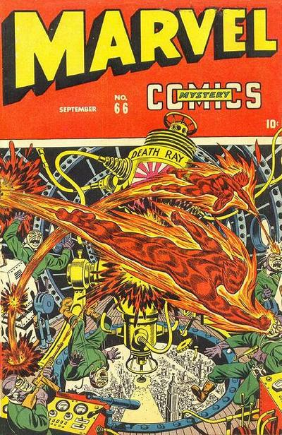 Cover for Marvel Mystery Comics (Marvel, 1939 series) #66