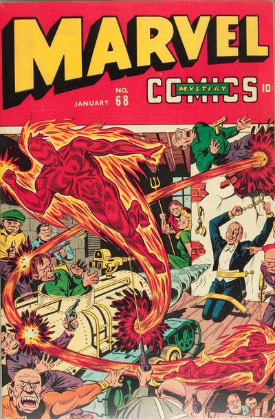 Cover for Marvel Mystery Comics (Marvel, 1939 series) #68