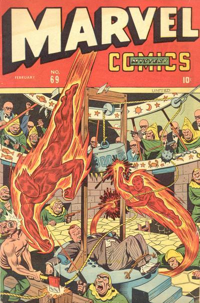 Cover for Marvel Mystery Comics (Marvel, 1939 series) #69