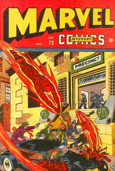Cover for Marvel Mystery Comics (Marvel, 1939 series) #72