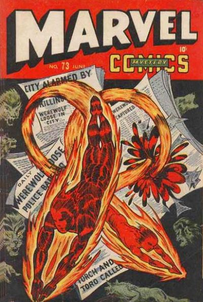 Cover for Marvel Mystery Comics (Marvel, 1939 series) #73