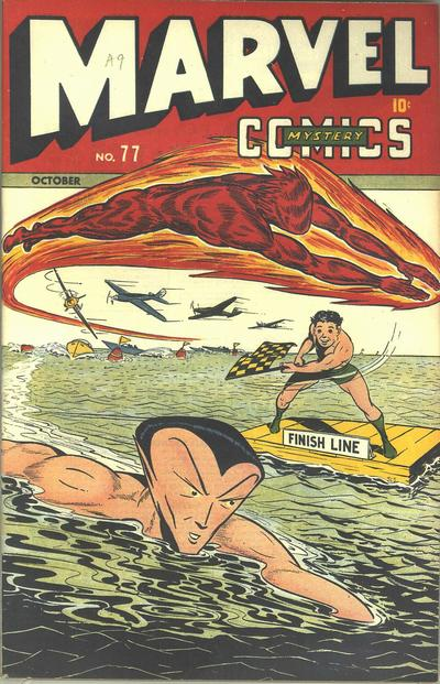 Cover for Marvel Mystery Comics (Marvel, 1939 series) #77