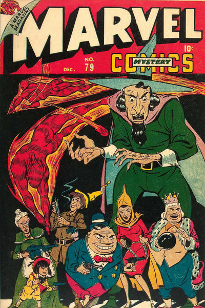 Cover for Marvel Mystery Comics (Marvel, 1939 series) #79