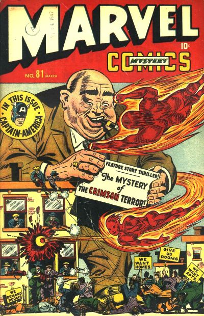 Cover for Marvel Mystery Comics (Marvel, 1939 series) #81