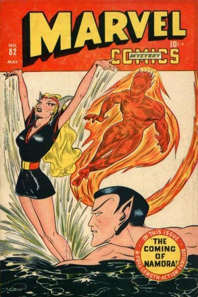 Cover for Marvel Mystery Comics (Marvel, 1939 series) #82