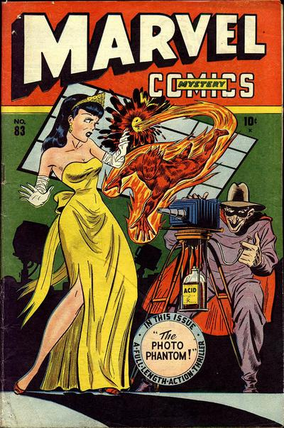 Cover for Marvel Mystery Comics (Marvel, 1939 series) #83