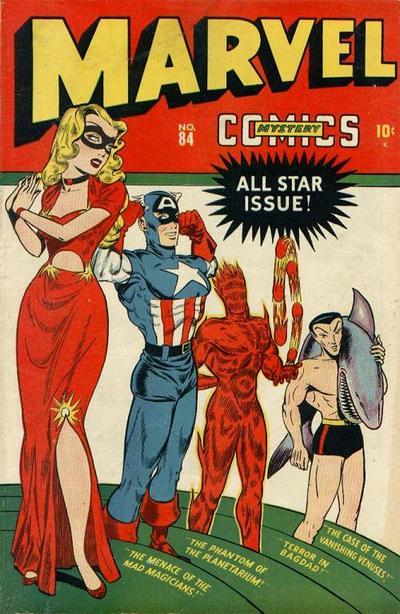 Cover for Marvel Mystery Comics (Marvel, 1939 series) #84