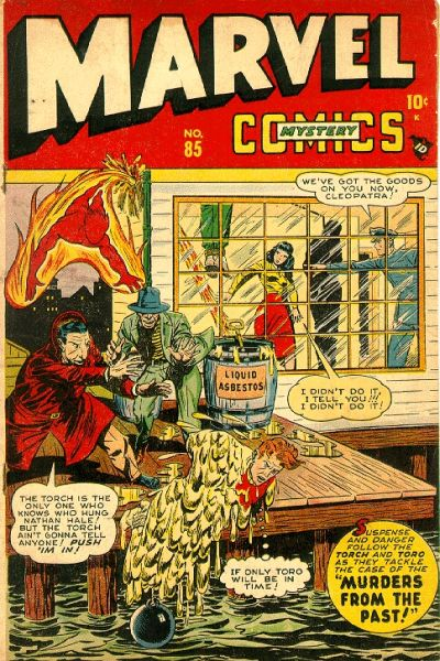 Cover for Marvel Mystery Comics (Marvel, 1939 series) #85