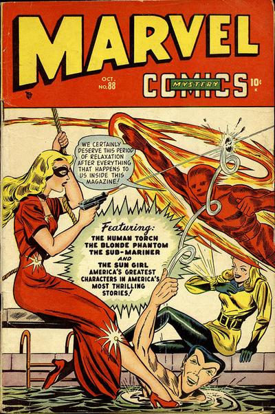 Cover for Marvel Mystery Comics (Marvel, 1939 series) #88