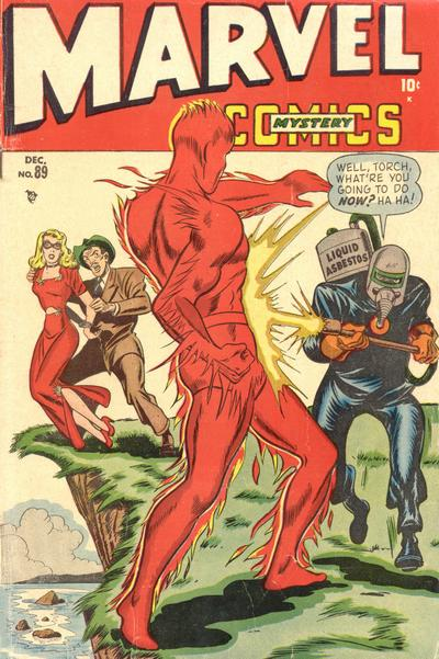 Cover for Marvel Mystery Comics (Marvel, 1939 series) #89