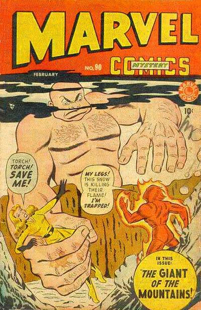 Cover for Marvel Mystery Comics (Marvel, 1939 series) #90