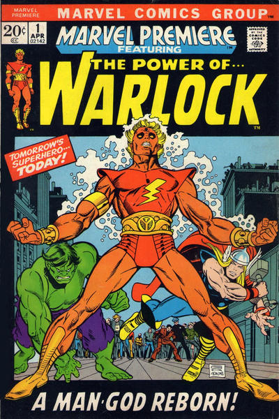 Cover for Marvel Premiere (Marvel, 1972 series) #1