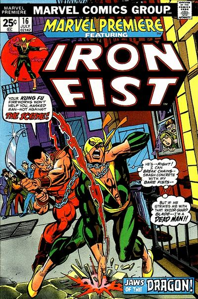 Cover for Marvel Premiere (Marvel, 1972 series) #16