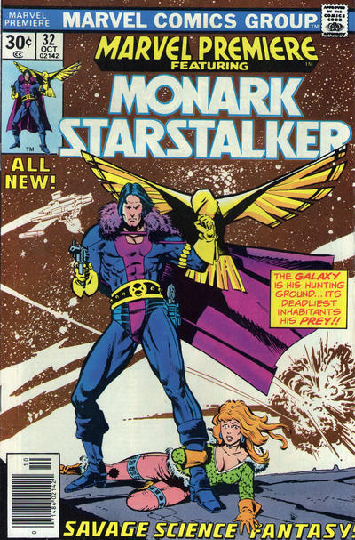 Cover for Marvel Premiere (Marvel, 1972 series) #32 [British]