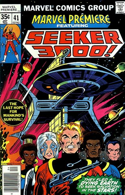 Cover for Marvel Premiere (Marvel, 1972 series) #41