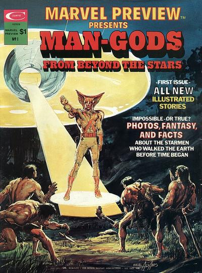Cover for Marvel Preview (Marvel, 1975 series) #1