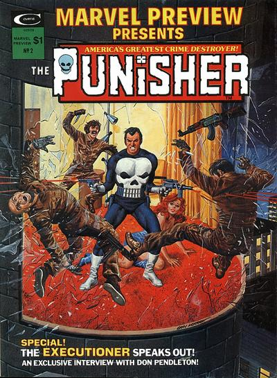 Cover for Marvel Preview (Marvel, 1975 series) #2