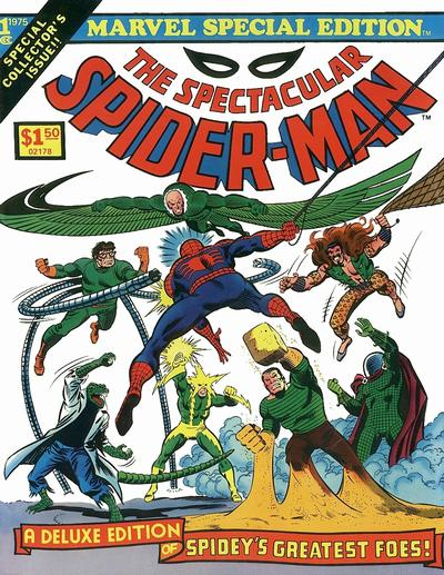 Cover for Marvel Special Edition (Marvel, 1975 series) #1