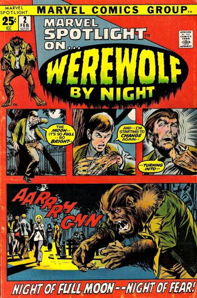 Cover for Marvel Spotlight (Marvel, 1971 series) #2